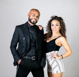 Julio Rojas e Fabiana