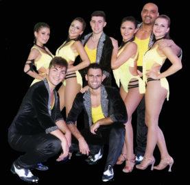 Simone Giorgio y su Timba Tumba Dancers